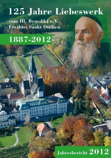 Jahresbericht 2012 - Erzabtei St. Ottilien