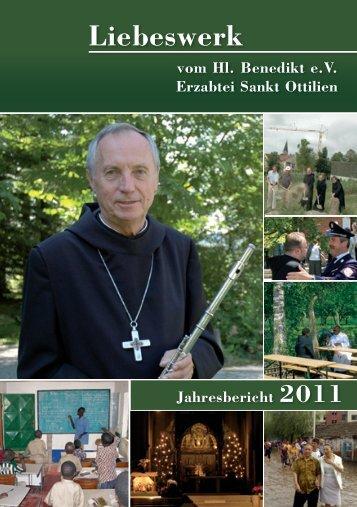 Jahresbericht 2011 - Erzabtei St. Ottilien