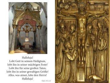 Lobt ihn für seine großen Taten, lobt ihn in se - Erzabtei St. Ottilien