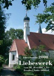 Jahresbericht 2008 - Erzabtei St. Ottilien