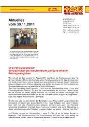 Aktuelles vom 30.11.2011 Im E-Fall einsatzbereit! - ASB RV NORD ...