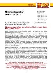 MI Tag der offenen Tür 20110520 - ASB RV NORD-OST ev
