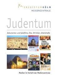 Judentum - Medienliste - Erzbistum Köln