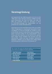 Vereinsgründung - Arbeiter-Samariter-Bund Kreisverband ...