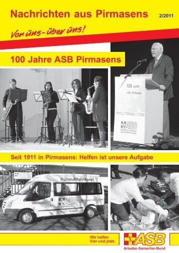 Nachrichten aus Pirmasens 2/2011 - ASB Pirmasens