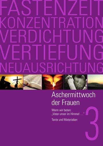 Aschermittwoch der Frauen - Erzbistum Köln