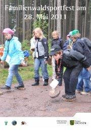 Familienwaldsportfest am 28. Mai 2011 - Erzgebirgsverein