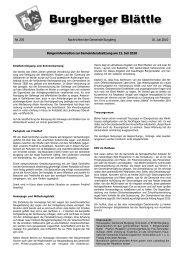 Burgberger Blättle Burgberger Blättle - Erzgruben - Erlebniswelt am ...