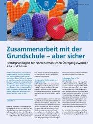 Zusammenarbeit mit der Grundschule – aber sicher - ErzieherIn.de