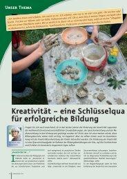 Kreativität – eine Schlüsselqua lifikation für ... - ErzieherIn.de