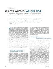 Wie wir wurden, was wir sind - ErzieherIn.de