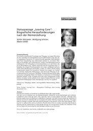 """Statuspassage """"Leaving Care"""": Biografische ... - ErzieherIn.de"""