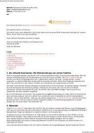 Newsletter ErzieherIn.de Mai 2012