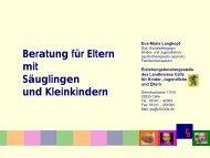 Beratung 0-3 - Landesarbeitsgemeinschaft für Erziehungsberatung ...