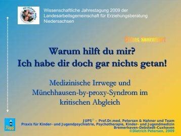 Münchhausen-by-proxy-Syndrom - Landesarbeitsgemeinschaft für ...