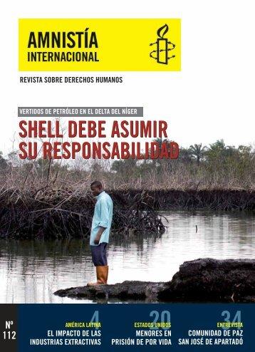 nº 112 Enero - Febrero - Amnistía Internacional Argentina