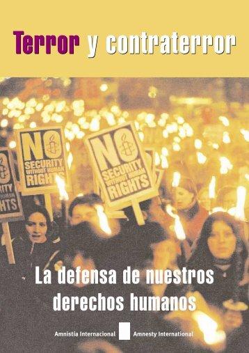 La defensa de nuestros derechos humanos - Amnistía Internacional ...