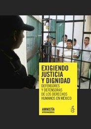 EXIGIENDO JUSTICIA Y DIGNIDAD - Amnistía Internacional España ...