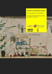 murales en vuestro centro - Amnistía Internacional España