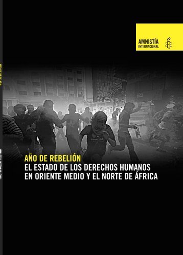 año de rebelión el estado de los derechos humanos en oriente ...