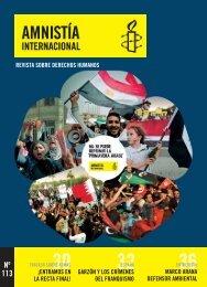 Nº 113 - Amnistía Internacional España - Amnesty International