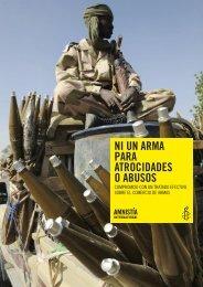 ni un arma para atrocidades o abusos - Amnistía Internacional España