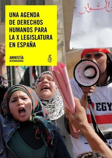 Agenda DDHH - Amnistía Internacional España