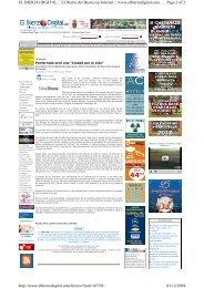 Ciudades por la Vida Ponferrada 2009-El Bierzo Digital - Amnistía ...