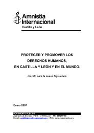 Castilla y León PROTEGER Y PROMOVER LOS DERECHOS ...