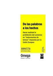 resumen y recomendaciones - Amnistía Internacional España