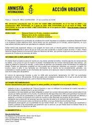Público - Índice AI: MDE 23/049/2008 - Amnistía Internacional España