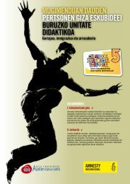 gidaren pdf-a deskargatu - Amnistía Internacional España - Amnesty ...