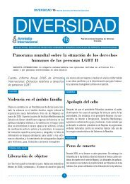 boletin 16 - Amnistía Internacional España