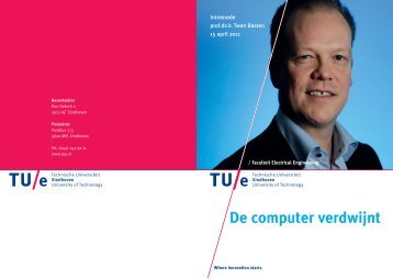 Uitnodiging BastenTUe definitief.pdf - Technische Universiteit ...