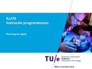 5JJ70 Instructie programmeren