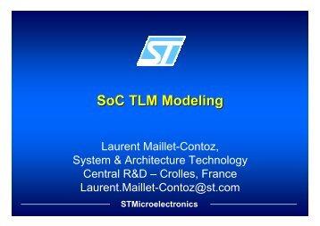 Laurent Maillet-Contoz, STMicroelectronics