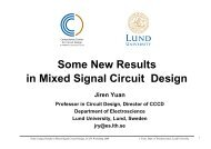 Mixed Signal Design for Future Radio Systems