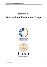 CCCD Report 2003-2005