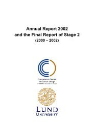 Annual Report 2002 and the Final Report of Stage 2