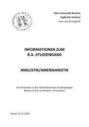 Dokument als pdf-Datei - Englisches Seminar - Ruhr-Universität ...