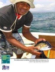 FISH MOVEMENT IN MPAS ON CORAL REEFS IN KUBULAU,FIJI