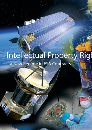 Intellectual Property Rights - A New Regime in ESA Contracts
