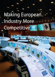 For Europe to remain competitive, the - ESA