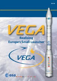 Realising Europe's Small Launcher Contents - ESA