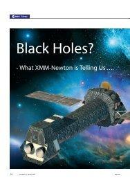 black holes? what xmm-newton is telling us - ESA