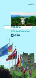 ESA Ground Station in Spain