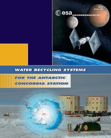 water recycling systems water recycling systems - ESA