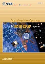 X-ray Evolving-Universe Spectroscopy - ESA