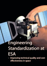 Engineering Standardization at ESA Engineering Standardization at