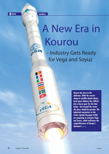 a new era in kourou - industry gets ready - ESA